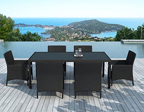 table-et-chaise-de-jardin-6-personnes-en-resine-tressee-noire-escondido