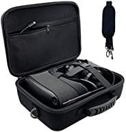 Oculus Quest Carrying Case Hard Travel Case VR Gaming Headset and Controller Accessories Protective Storage Ca