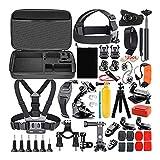 Zubehör-kit Für Gopro Hero 7/4/3+/3/2/1, Gopro Outdoor-Sportanzug Geeignet Für Die Meisten Action-cam Tauchen, Fahrräder, Motorräder, Selfies, Klettern, Usw