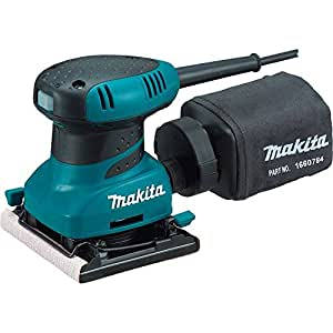 Makita BO4556 240 V Palm Sander Plus Clamp