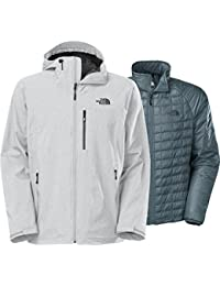 The North Face Thermoball Triclimate Jacket Mens High Rise Grey Heather L by The North Face