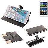 Für Huawei Y6Pro LTE Flipcover Schutz Hülle Schutzhülle