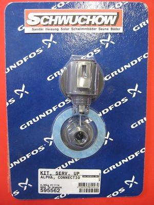 Grundfos Kit Stecker komplett zu Alpha und Magna Pumpen 595562