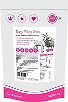 PINK SUN Easy Whey Xtra est une source de protéines facilement digestible non dénaturée (80% de protéines). Riche en calcium, en potassium et plein d'acides aminés essentiels, le PINK SUN Easy Whey Xtra convient à toute la famille et est préféré par ...