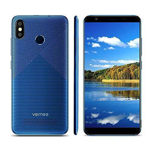 Vernee T3 Pro 5.5 Pulgadas 18: 9 Sin Bisel Pantalla Completa Teléfono Inteligente Android 8.1 4G LTE MTK6739 3GB RAM...