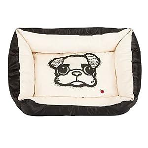 Superweiches, kuscheliges Hundebett für süße Träume.