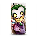 Coque Iphone 6 6S Joker 2 Smile Bd Comics Cartoon Manga silicone souple