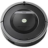 iRobot Roomba 871 Robot Aspirador Potente, Rendimiento de Limpieza, Sensores de Suciedad Dirt Detect, Todo Tipo de Suelos, Programable, Óptimo para el Pelo de Mascotas, Gris