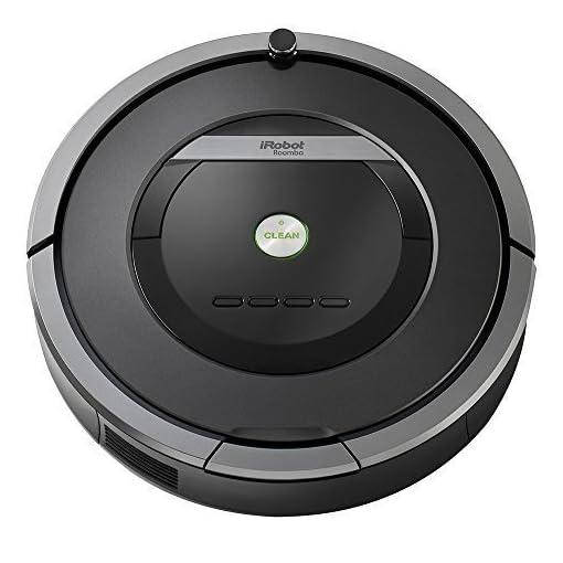 iRobot-Roomba-871-Robot-aspirador-sistema-de-limpieza-potente-con-sensores-de-suciedad-Dirt-Detect-aspira-alfombras-y-suelos-duros-atrapa-el-pelo-de-mascotas-programable-color-gris-oscuro