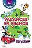Incollables - Cahiers de vacance primaire - Un tour en France