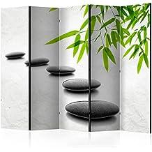 murando - Biombo - de impresion unilateral en el lienzo de TNT de calidad Premium - Decoracion cuarto - Biombo de madera con imagen impresa - b-B-0156-z-c