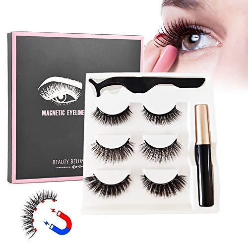 Magnetic Eyeliner Kit De Pestañas Magnéticas