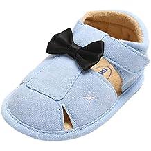 Modaworld Zapatos de bebé recién Nacido, Zapatos Huecos para bebés niños niñas Zapatos de Moda