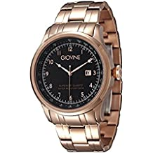 Reloj cuarzo para hombre Giovine Casanova Tempo OGI004/T/MB/RG/NR