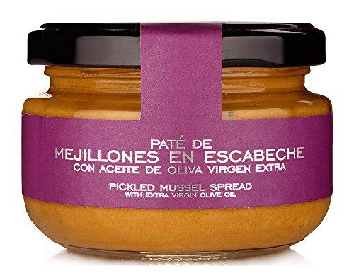 Terrine de Moules en Escabèche (125 g) - La Chinata
