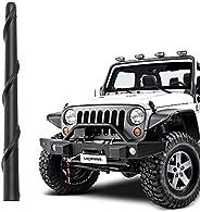 "KSaAuto Spiral Antenna Compatible with Jeep Wrangler JK JKU JL JT JLU Rubicon Sahara Gladiator 2007-2021 | 7"""
