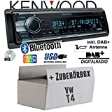 VW Bus T4 - Kenwood KDC-X7100DAB - DAB+ | Bluetooth | 2X USB hinten | iPhone/Android - Autoradio - Einbauset
