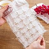 Ice Cube Bags autosigillante usa e getta macchina per cubetti di ghiaccio, confezione da 50cubetti di ghiaccio (1200)