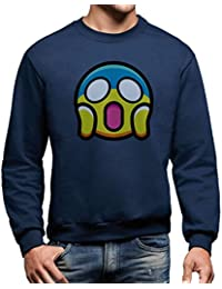 Sweatshirt Emoji Choqué Smiley - DROLE by Mush Dress Your Style