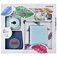 Instax Mini 9 Kit Açık Mavi Jean Çantalı