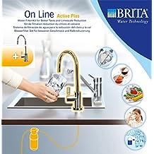Brita 1004307 Sistema On Line Active Plus Filtro per Acqua,