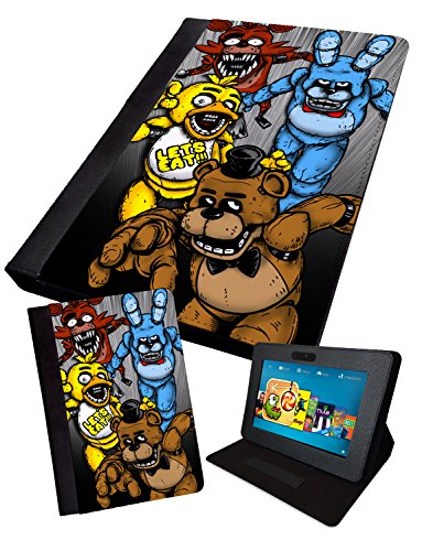 fnaf-fan-art-four-characters-printed-tablet-folding-case-cover-faux-ipad-mini