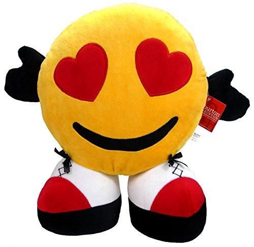 Valentines Day Emoji Face 15 inch Plüschtier Plüschtiere Valentine