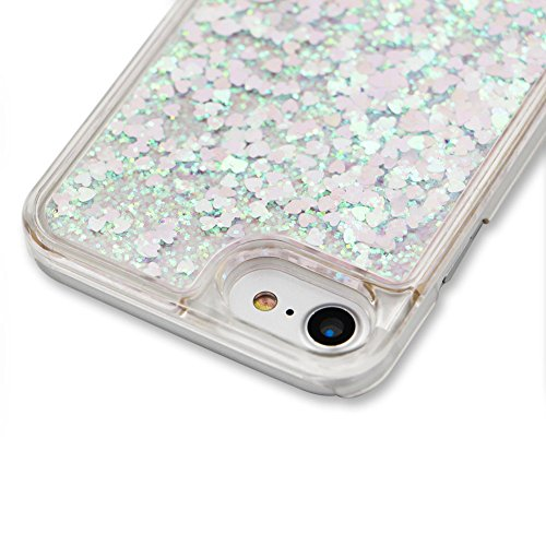 Coque Pour Iphone 6/6S 4.7 Pouce, SKYXD Fluide Liquide Coque Ultra Slim SOUPLE Étoiles Étui Housse Bling Glitter Sparkles Coque Liquid Crystal Premium Back Case Transparente Coque Pour Iphone 6/6S 4.7 Color#2