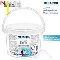 Metacril oxígeno Activo granular – OxiNet 3 kg. - Ideal para Piscina o hidromasaje (