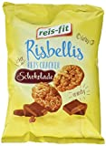 reis-fit Risbellis Reis Cracker Schokolade, 4er Pack (4 x 40 g) -