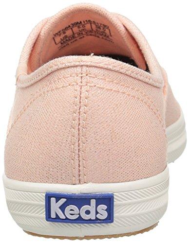 Keds Ch Metallic Canvas, Chaussures de Running Femme Or (Rose Gold)