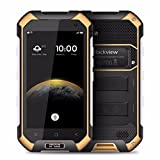[lacaca Shop] Blackview bv6000s 4G IP68Smartphone 4.7pulgadas Android 6.0Quad-Core 1,3GHz 2GB RAM 16GB ROM GPS NFC OTG + GLONASS (Amarillo)