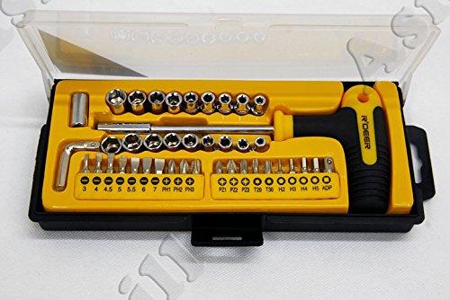 Precision Treiber Schraube Werkzeugset für die Elektronik DIY (40 Stücke Set)