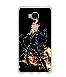 CRAZYMONK DIGITAL PRINTED BACK COVER FOR HUAWEI HONOR 5X