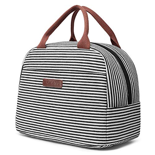 Lunchtasche Lunch Bag Leichte Isolierte Kühltasche Mittagessen Tasche für Herren Damen Mädchen Kinder, Wasserdichte Thermotasche Isoliertasche für Arbeit/Schule/Picknick/Ausflug (29*16,5*20,5cm)