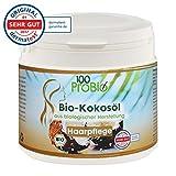 Kokosöl für die Haare - Repair und Pflege ohne Zusatzstoffe - (100ProBio) 500ml PE-Dose
