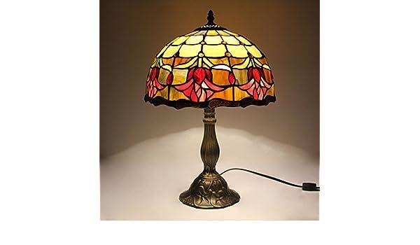 Tiffany Lampen Outlet : Hdo 12 zoll tulpe pastorale antike luxus tiffany stil handmade glas
