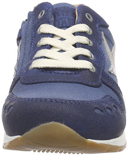 Bisgaard Unisex-Kinder Shoe with Laces Low-Top Blau (150 Dark denim)