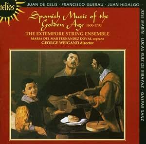 Musique Espagnole De L'Âge D'Or - Pièces D'Anonymes, De José Marin, Gaspar Sanz, Francisco Guerau, L