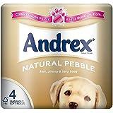 Andrex Galets Naturel Toilette Rouleaux De Papier - 240 Feuilles Par Rouleau (4)
