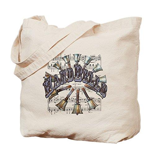 CafePress-Schellenring-Leinwand Natur Tasche, Reinigungstuch Einkaufstasche S khaki -