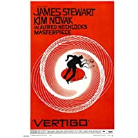 Vertigo Alfred Hitchcok Movie Film 30x40cm Poster Art Print preiswert