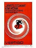 onthewall Vertigo Alfred Hitchcok Movie Film 30x 40cm Poster Stampa Artistica
