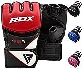 RDX Maya Hide Leather Grappling MMA Gloves UFC...