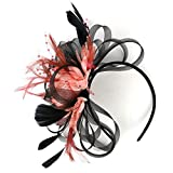 WUDUBE Headband Flapper Headband Headdress Serre-tête Floral Guirlande de Filles pour Filles