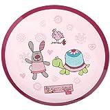 Sigikid 3 Happy Friends Melamine Plate (23 x 23 x 2 cm)