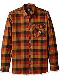 Fox Hombre Manga Larga Camisa de Botones db047b11886
