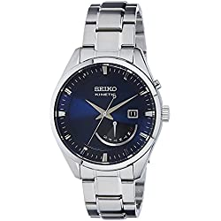 SRN047P1 Seiko Men's Automatic Watch Analogue-Silver Stainless Steel Strap