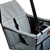 laamei Housse Protecteur de siège voiture de sécurité pour animaux domestiques Boîtier étanche Protecteur caisse de transport voyage Sacs pour chien chat (40x 30x 25cm)