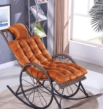 Desy salón silla cojines silla mecedora cojín reposacabezas cojines